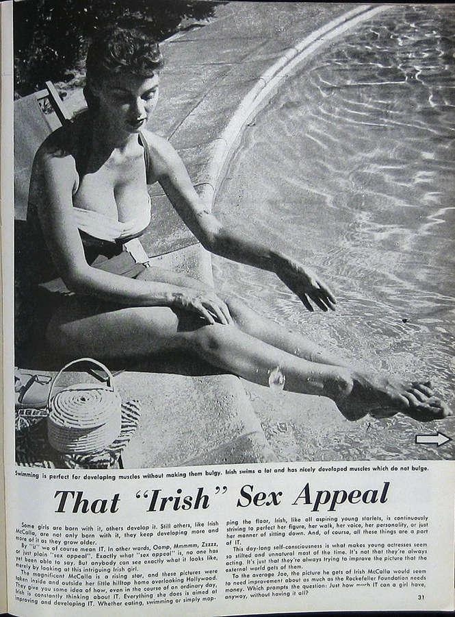 Irish McCalla Feet