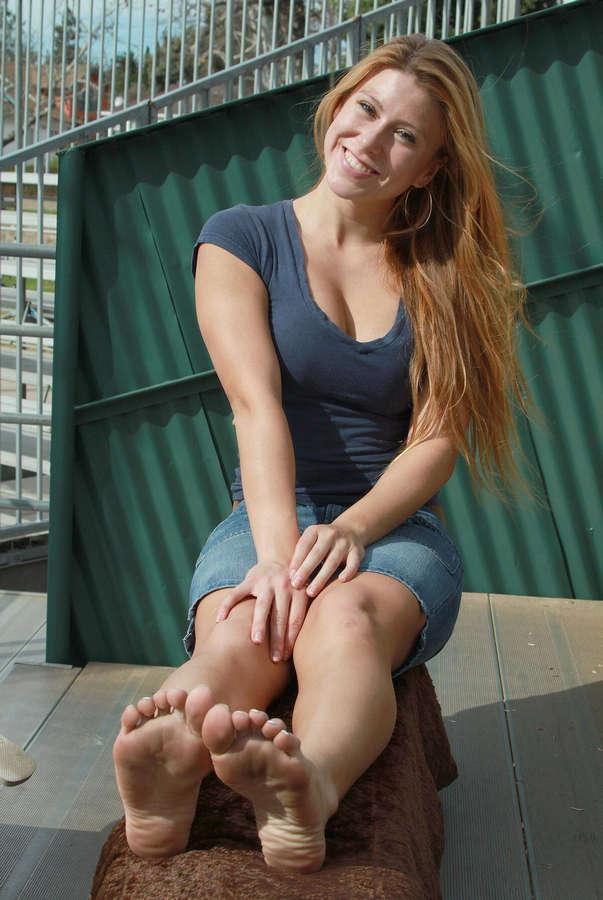 Brittany Lauren Feet