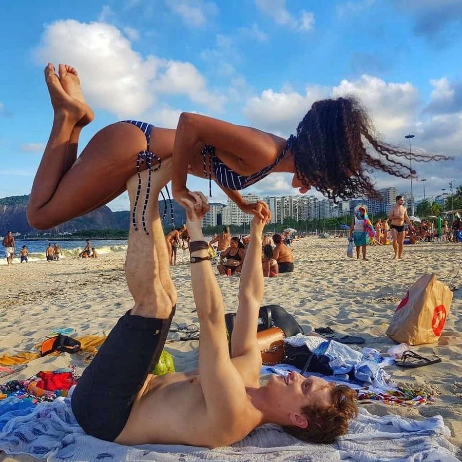 Heslaine Vieira Feet
