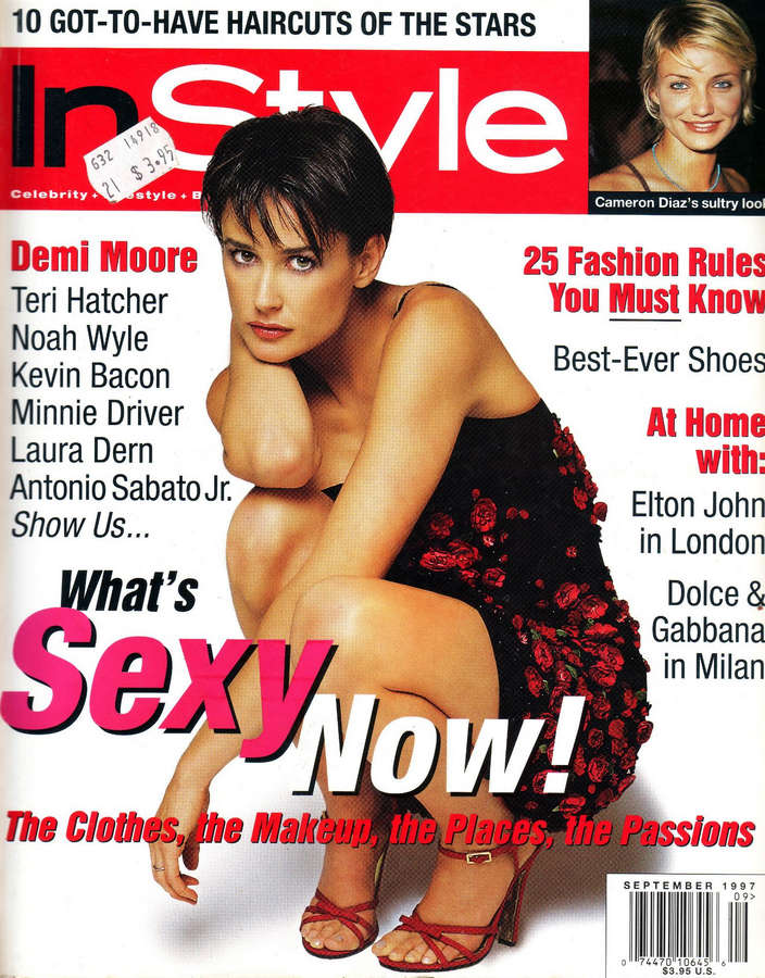 Demi Moore Feet