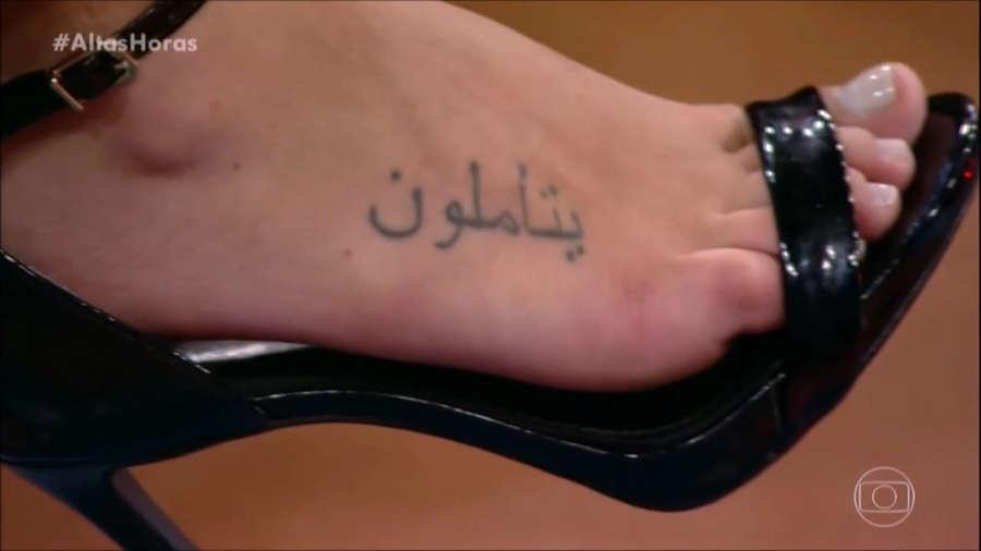 Giovanna Lancellotti Feet