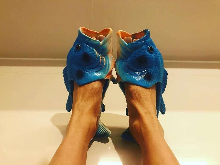 Maggie Q Feet