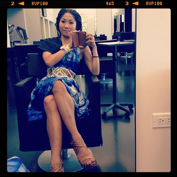 Julie Chang Feet
