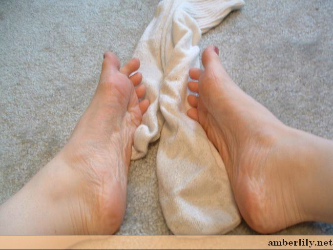 Amber Lily Feet