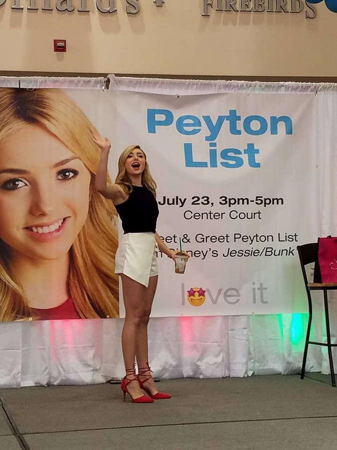 Peyton List Feet