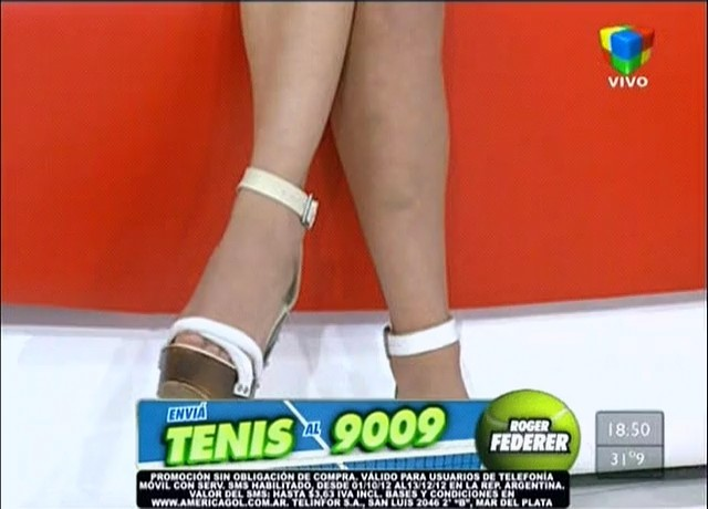 Noelia Rios Feet