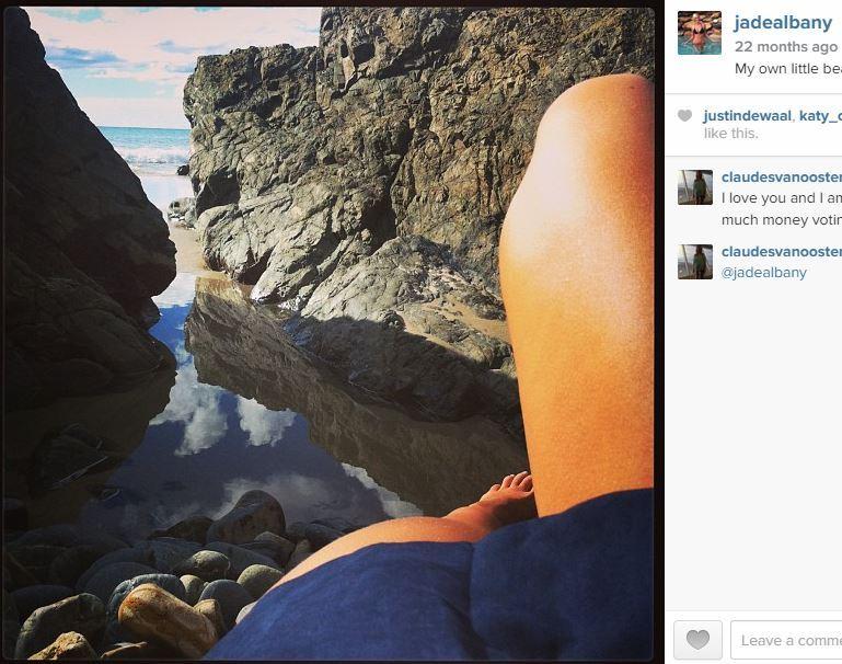 Jade Albany Pietrantonio Feet