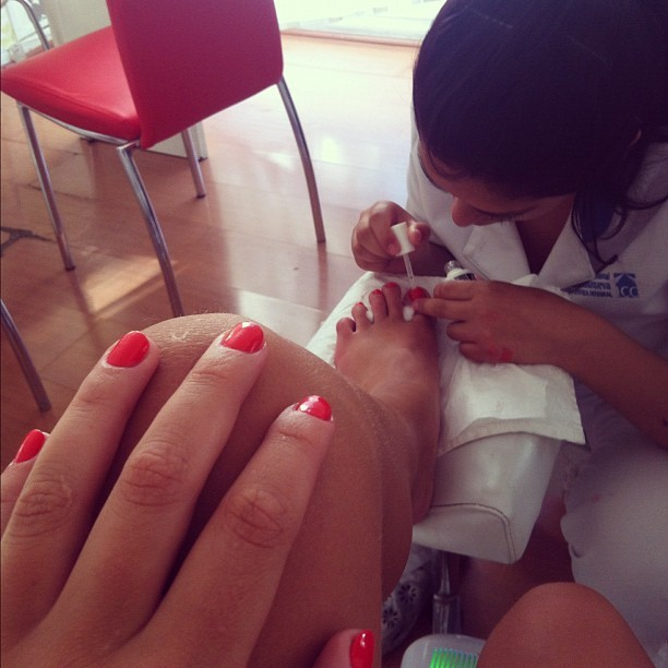 Catalina Vallejos Feet
