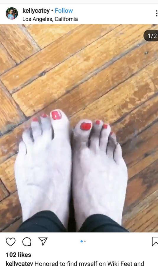 Kelly Catey Feet