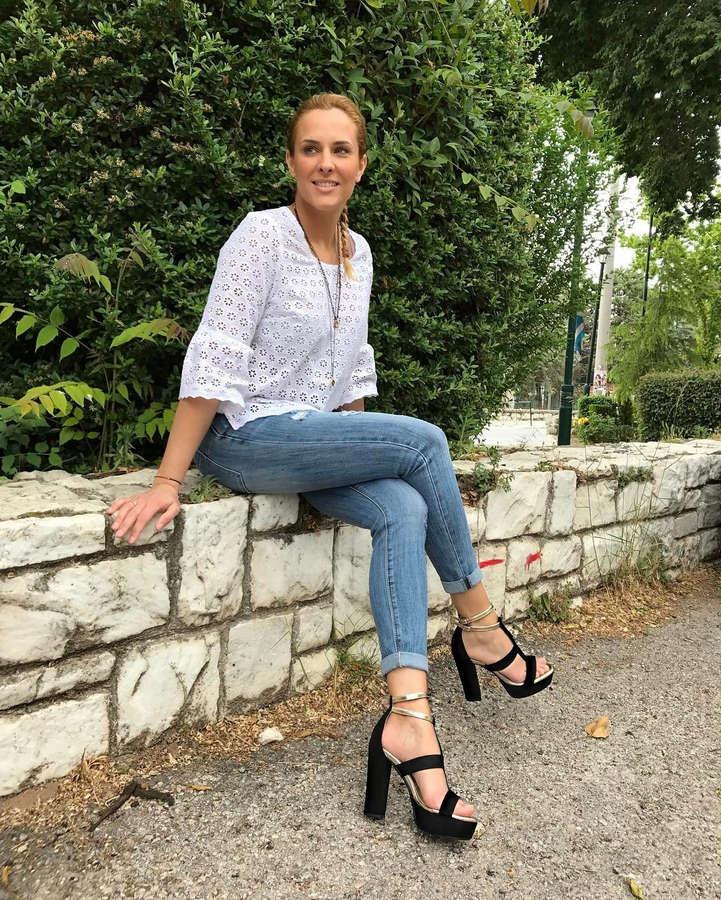 Elena Asimakopoulou Feet