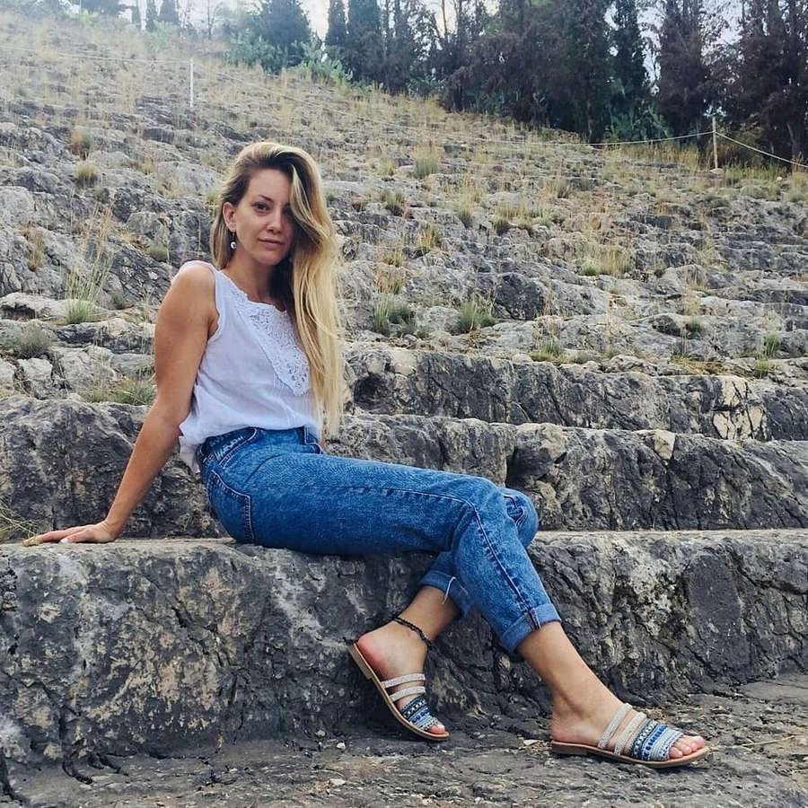 Eva Tsachra Feet
