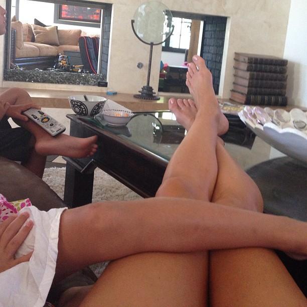 Alexis Bellino Feet