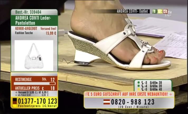 Sandra Ahrabian Feet
