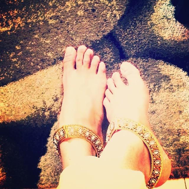 Aishwarya Devan Feet