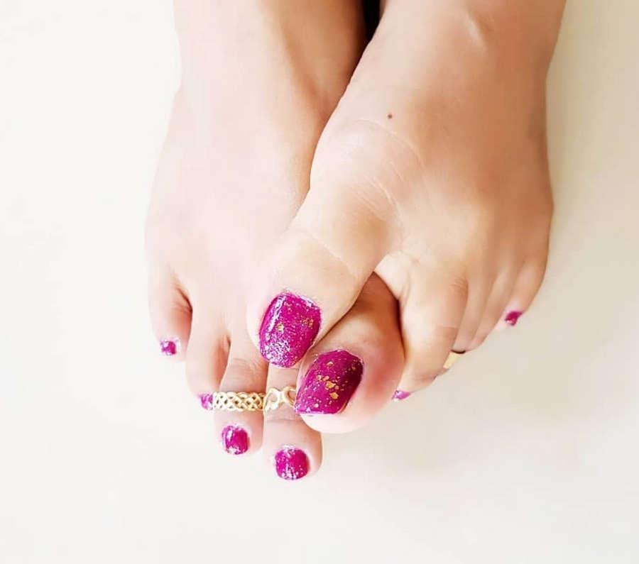 Ruwangi Rathnayake Feet