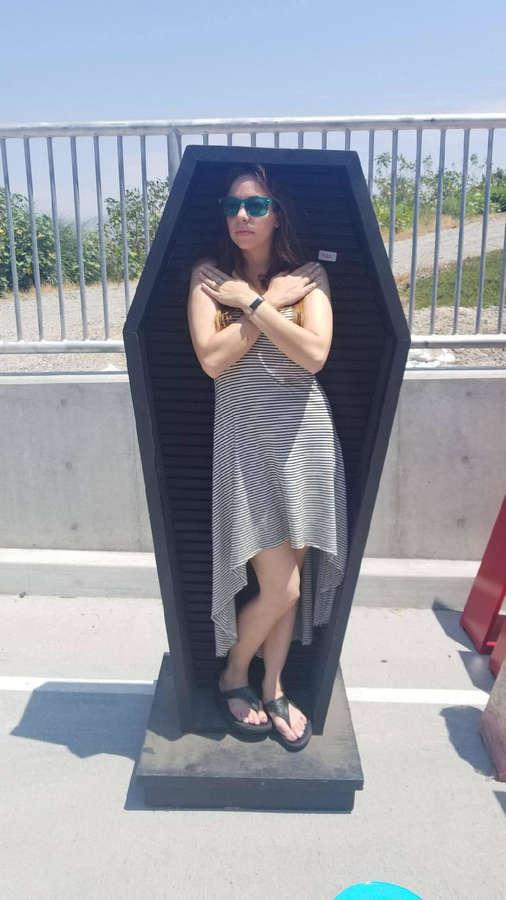 Angela Sauer Feet