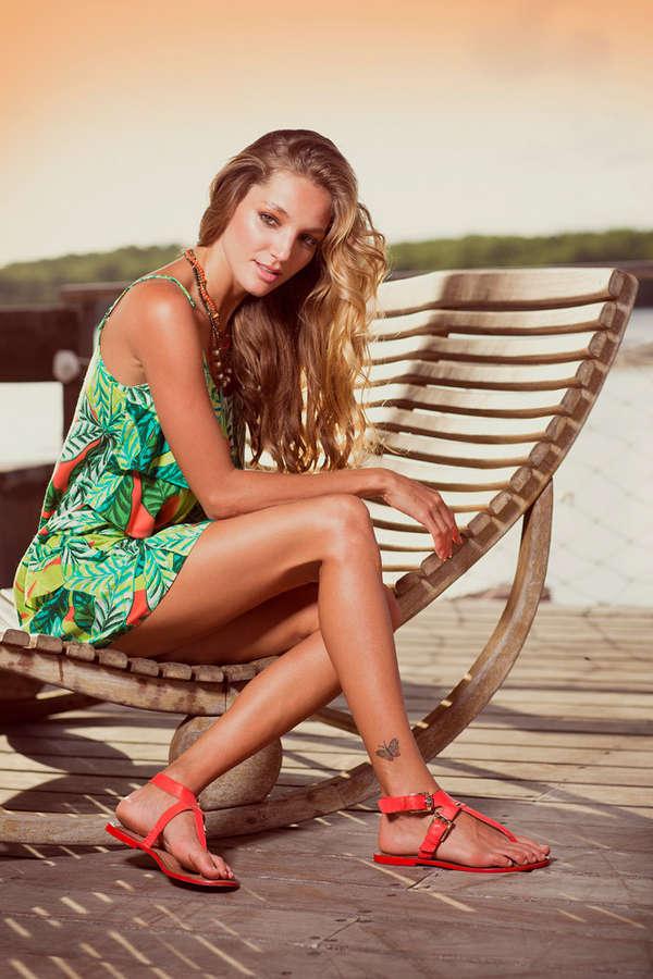 Priscila Uchoa Feet