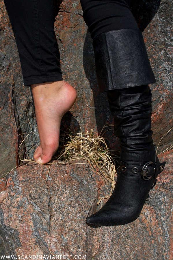 Denice Andree Feet