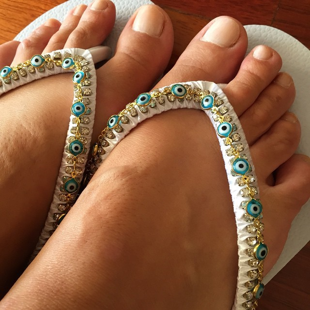 Isabel Angelino Feet
