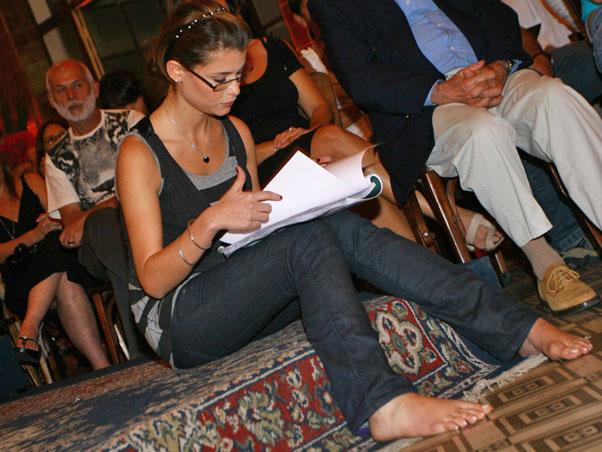 Aline Moraes Feet
