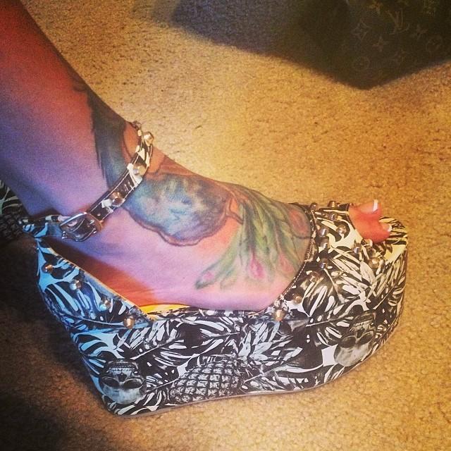 Megan Daniels Feet