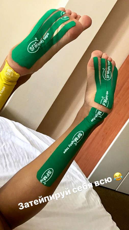 Anna Sidorova Feet