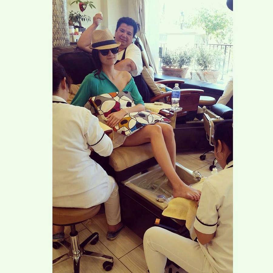 Blanca Blanco Feet