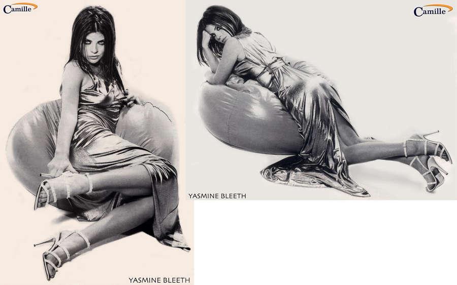 Yasmine Bleeth Feet