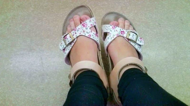 Haruko Momoi Feet