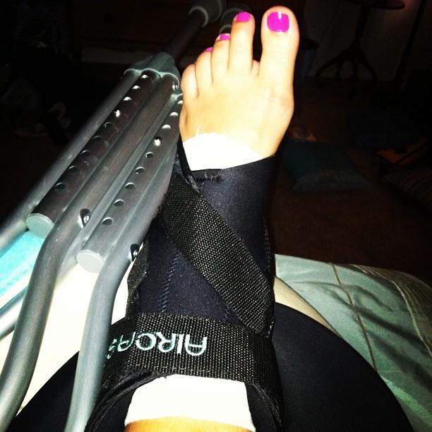 Brie Cubelic Feet