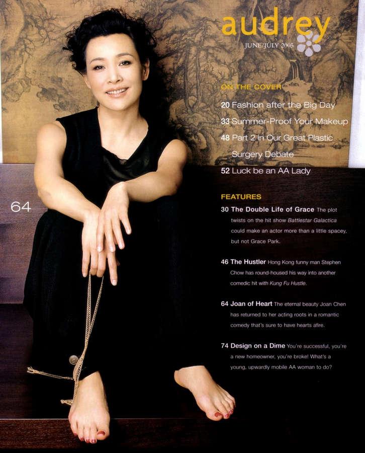 Joan Chen Feet