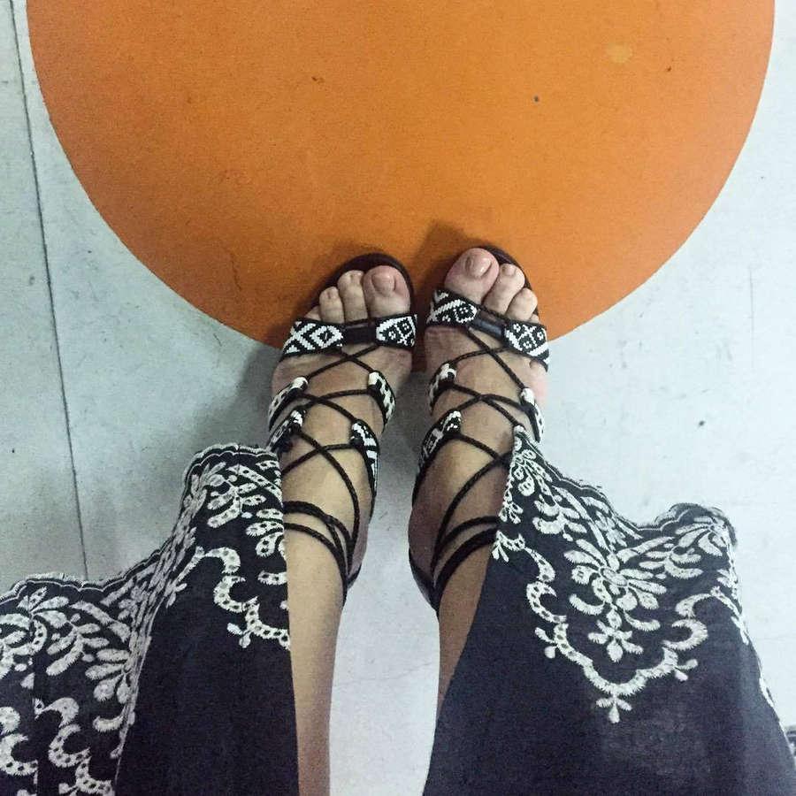Hristina Kontova Feet