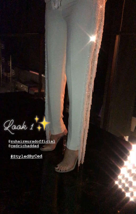 Cyrine AbdelNour Feet