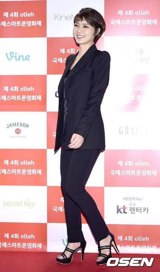Ahn Yeong Mi Feet