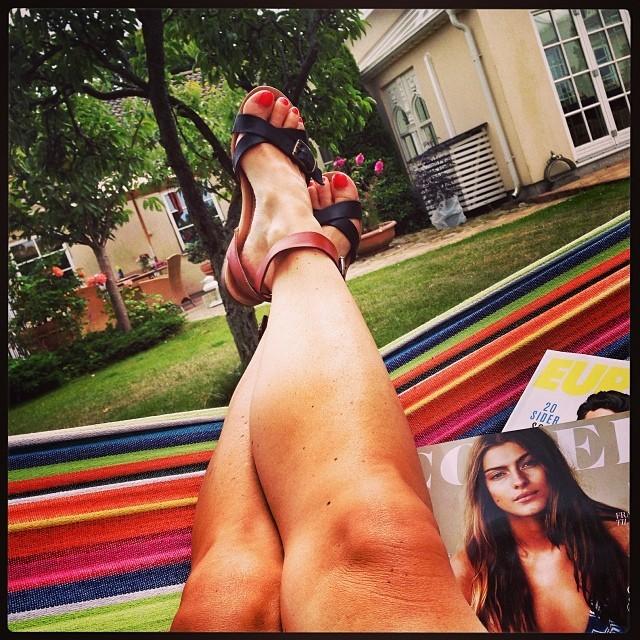 Annette Heick Feet