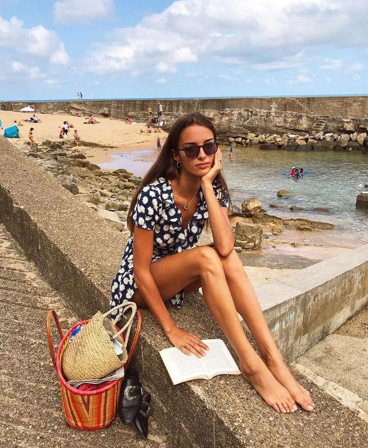 Gabrielle Caunseil Feet