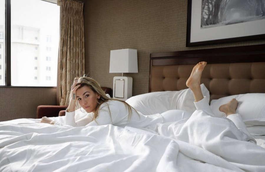 Mikaela Mayer Feet