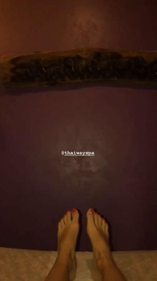 Ana Moura Feet