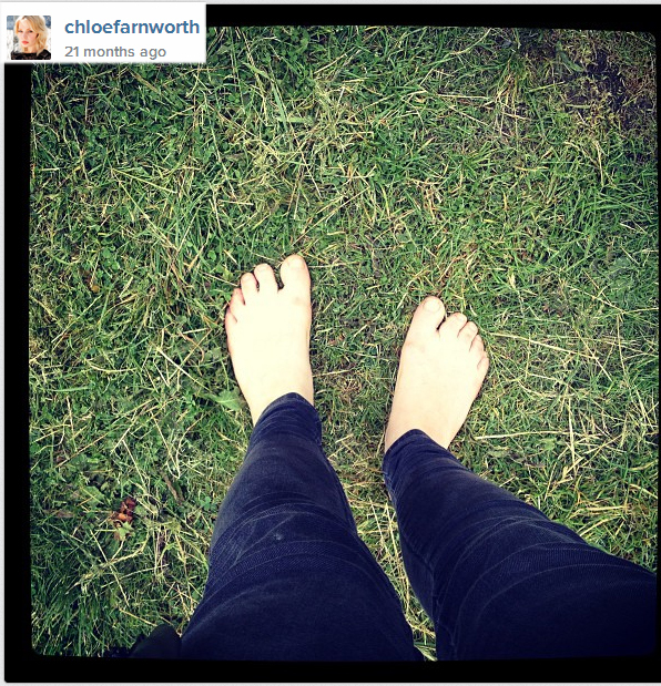 Chloe Farnworth Feet