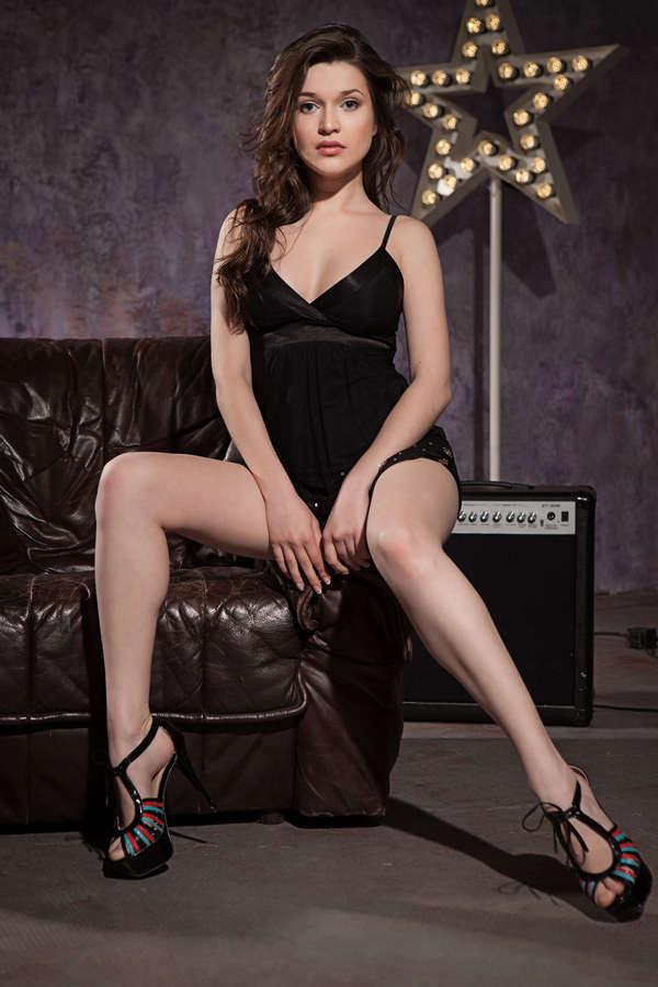 Serena Wood Feet
