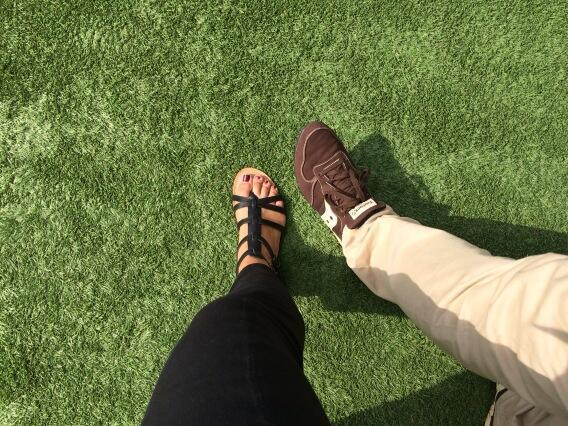 Paula Faris Feet