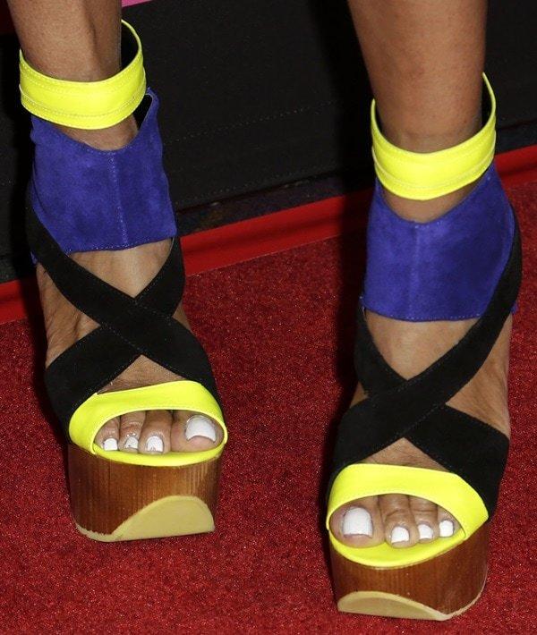 Jackie Christie Feet