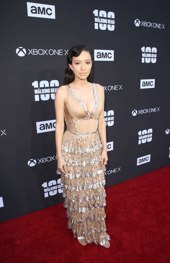 Christian Serratos Feet