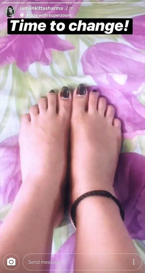 Ankita Sharma Feet