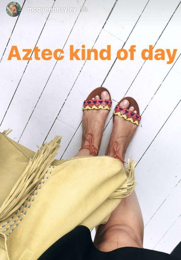 Hayley McQueen Feet