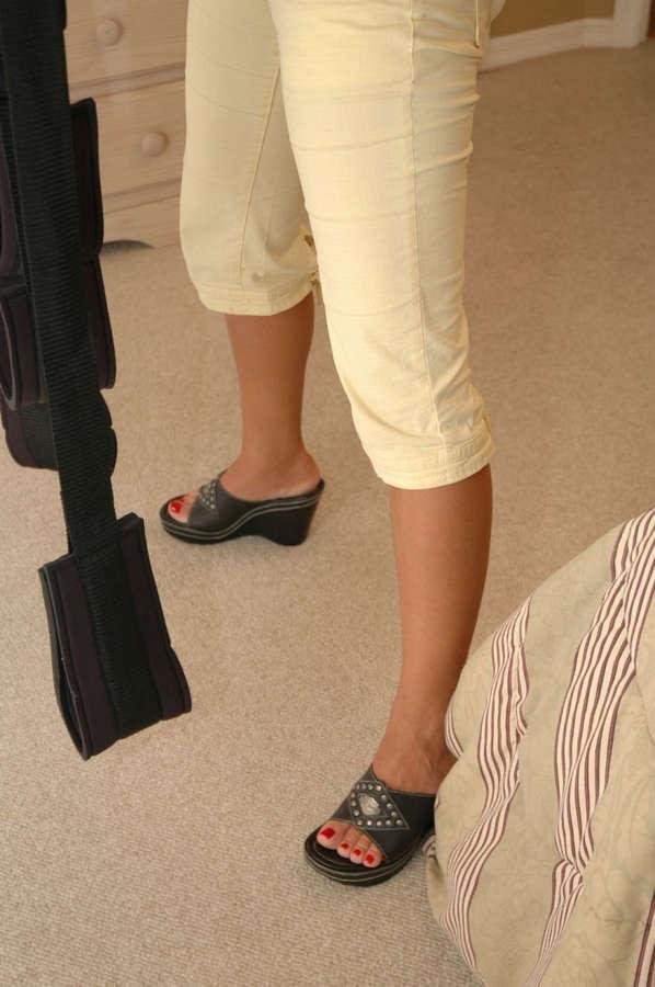 Amber Lynn Bach Feet