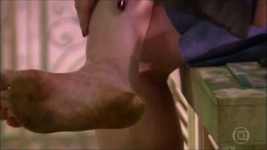 Claudia Raia Feet