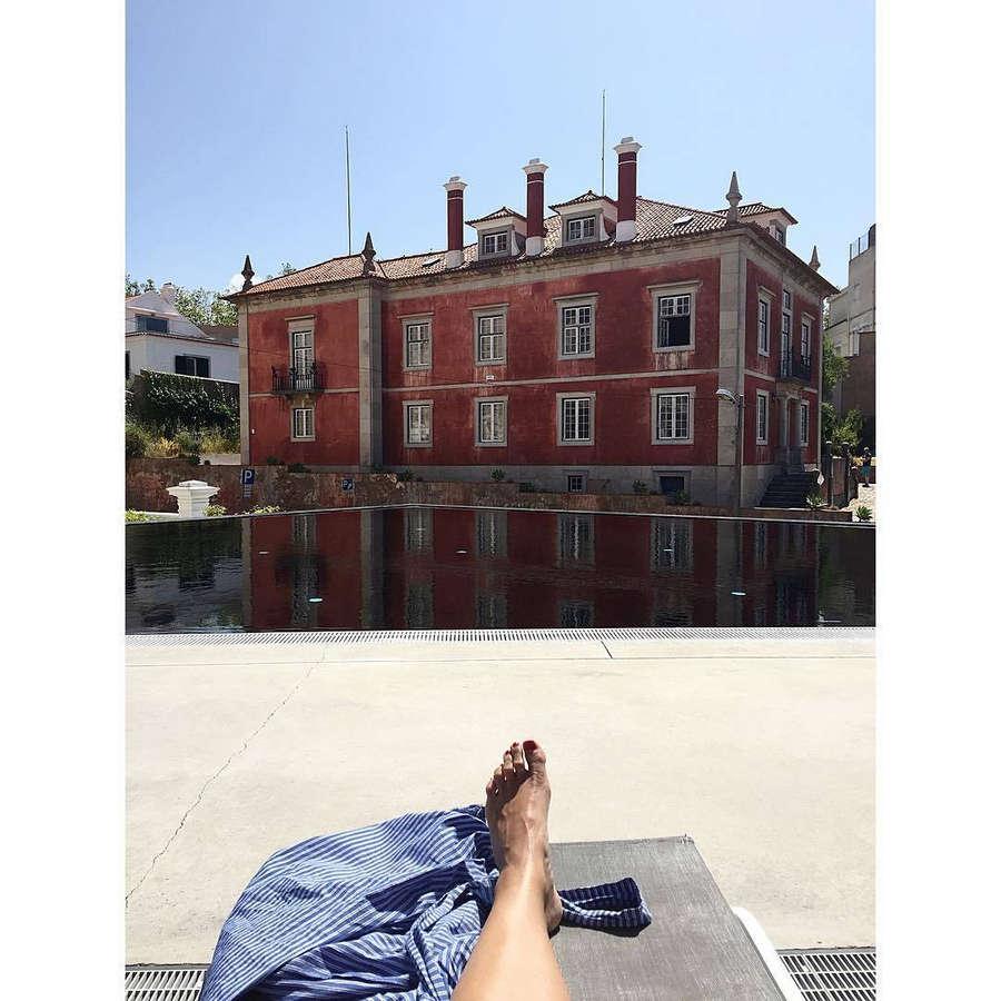 Janka Polliani Feet
