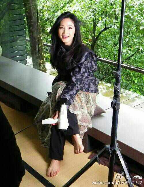 Jiwei Fang Feet