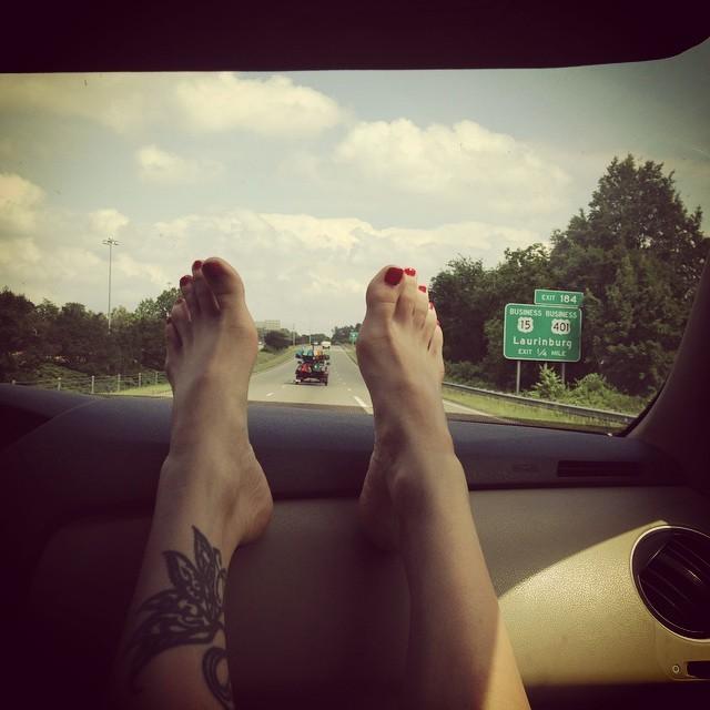 Lacey Sturm Feet